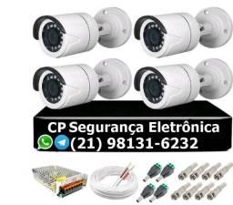 Título do anúncio: Câmeras de segurança vendas instalação e manutenção fechamos contratos de manutenção