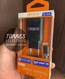 Carregador turbo IPhone