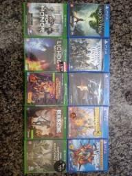 Jogos PS4 e Xbox one