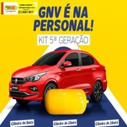 GNV Gás Cilindro Novo + Kit e Serviço Especializado Homologada INMetro ,Pronto Mesmo dia