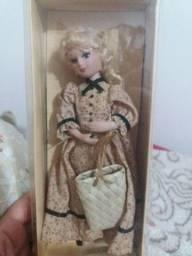 bonecas de porcelana Damas de época