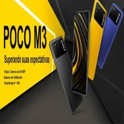 Smartphone Poco M3 - Xiaomi de 64GB (Amarelo)