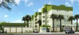 Apartamento com 2 dormitórios à venda, 54 m² por R$ 175.000,00 - Vila Bernardes - Araponga