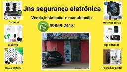 Título do anúncio: Cerca eletrica, cameras, alarme e motor de portão