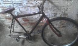 Título do anúncio: Vendo bicicleta para terminar de montar