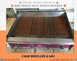 Char broiller a Gás 87cm - Tedesco | Matheus