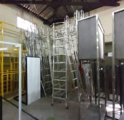 Escadas de Alumínio Móvel