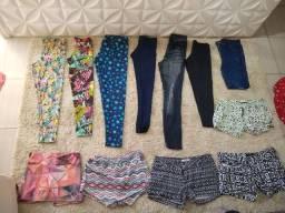 Título do anúncio: Vendo lote com roupas femininas Tam M e G