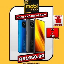 Xiaomi Poco X3 64GB Global / Promoção / 12x149