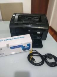 HP LASERJET P1102W WIFI. / COM TONER COMPARIVEL  NOVO LACRADO
