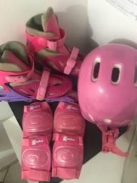 Vendo patins ajustável do n 35 ao 38