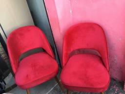 Poltronas vermelha