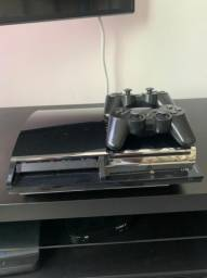 Vendo Playstation 3 com dois controles (PS3)