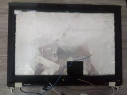 TAMPA DE TELA COM MOLDURA ASTES DOBRADIÇAS SEM O LCD PARA: LENOVO THINKPAD T410