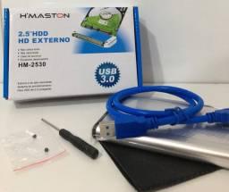 Título do anúncio: Case Usb 3.0 Hd Externo 2.5 Metal Notebook Console Pc