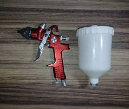 Título do anúncio: Pistola Gravidade HVLP Bico 1.4 600 ml