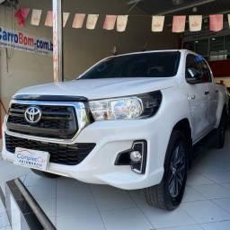 Título do anúncio: Toyota Hilux Srv Diesel 2020- Muito nova!!