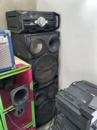 Título do anúncio: Vendo essa três caixas de som