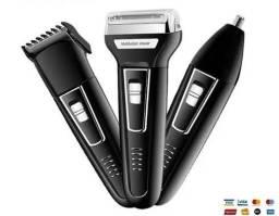 Título do anúncio: Maquina sem fio Barba, Cabelo e outros 3x1