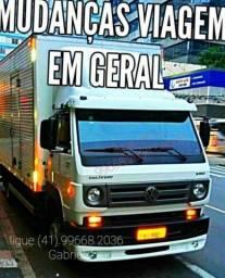 Título do anúncio: Fretes e mudanças!!. Em Curitiba e região!!. (41). 99668.2036 Gabriel ligue!!.