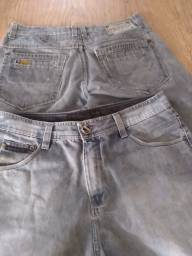 Título do anúncio: 2 bermudas jeans - Gangster