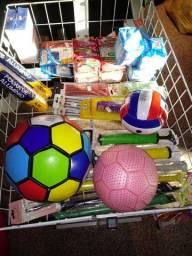 Lote para bazar 51 produtos 214 itens