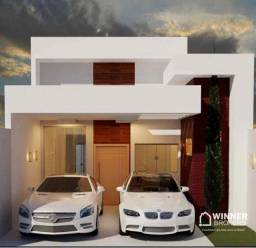 Casa com 2 dormitórios e Suite à venda, 98 m² por R$ 500.000 - Jardim Liberdade - Maringá/