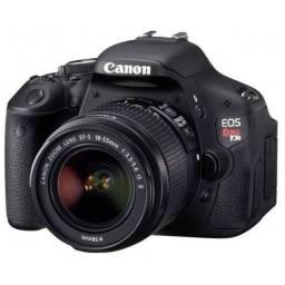 Canon Dslr T3i + Lentes + Flash + Case