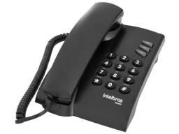 Telefone Intelbras Pleno Preto e Branco em Promoção na Print Art