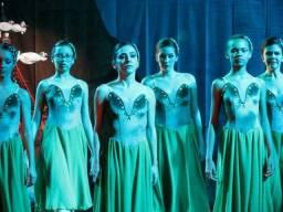 Figurino Ballet verde
