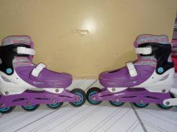Título do anúncio: Kit de patins