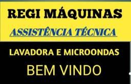 Assistência técnica microondas e máquina de lavar