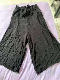 Título do anúncio: calça pantacourt preta