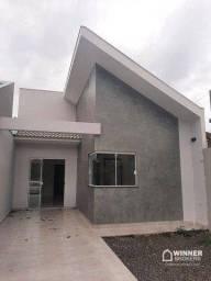 Casa com 3 quartos, sendo 1 suíte à venda, 70 m² de construção por R$ 285.000 - Jardim Par