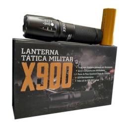 Título do anúncio: Produto novo. Lanterna tática militar 800 lumens r$125,00 entrego.