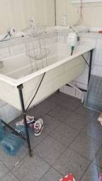Título do anúncio: Banheira  pet shop banho e tosa aviario torro