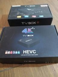 Título do anúncio: Tv BOX 4 k na caixa. Tenho 2.