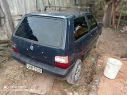 Fiat uno 2005 atrasado para interior