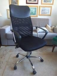 Título do anúncio: Cadeira de escritório Presidente tela mesh nova