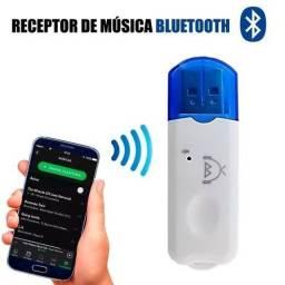 Título do anúncio: adaptador receptor bluetooth usb para som música novo na caixa