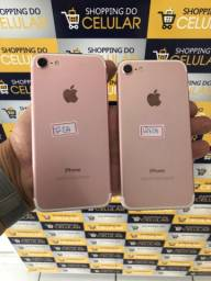 iPhones 7 32gb e 128gb rose seminovos originais