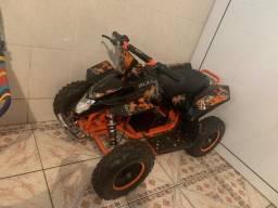 Título do anúncio: Quadriciclo Mini ATV Elétrico BK-E800 Bull Motors