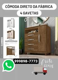 Título do anúncio: CÔMODA NOVA / LOJA DE MÓVEIS / ENTREGA GRÁTIS