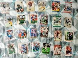 38 Cards NFL - anos 90 -  Frete Grátis