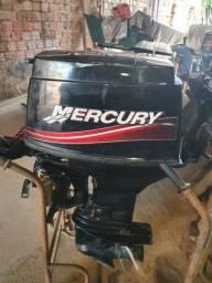 Motor mercury 40hp 2t 2014 único dono.