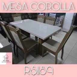 Mesa de jantar 6 cadeiras por 1189,00
