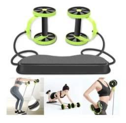 Kit Treino Funcional E Exerccio Fitness C/ Rodas Abdominais