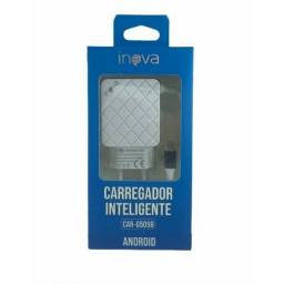 Carregador de Celular 2 USB V8 iPhone
