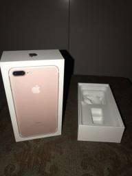 Caixa iphone 7 plus rosa