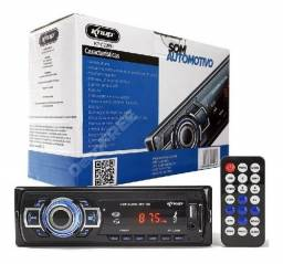 uto Radio Automotivo Bluetooth Mp3 Knup (entrega grátis)